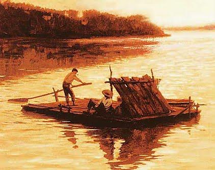 Huck-Finns-Raft